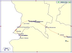 El mapa de la SCT